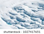snow texture background on... | Shutterstock . vector #1027417651
