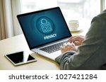 privacy access login... | Shutterstock . vector #1027421284