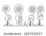 cartoon stick man drawing... | Shutterstock .eps vector #1027422517