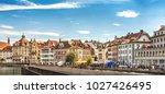 lucerne  switzerland  ...   Shutterstock . vector #1027426495