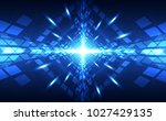 abstract vector super high... | Shutterstock .eps vector #1027429135
