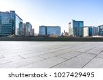 empty marble with modern office ... | Shutterstock . vector #1027429495