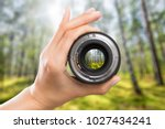 photography view camera... | Shutterstock . vector #1027434241