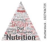 vector conceptual nutrition...   Shutterstock .eps vector #1027436725