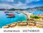 bodrum town in turkey | Shutterstock . vector #1027438435