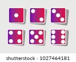 devils bones  ivories sign....   Shutterstock .eps vector #1027464181