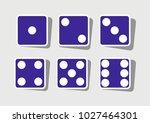 devils bones  ivories sign....   Shutterstock .eps vector #1027464301