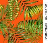 watercolor seamless pattern...   Shutterstock .eps vector #1027465735