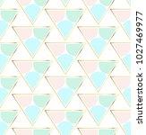 trendy geometric pattern ... | Shutterstock .eps vector #1027469977