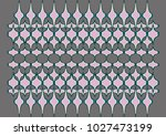 repetitive shapes  luxurious...   Shutterstock .eps vector #1027473199