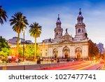 Plaza De Armas In Santiago De...