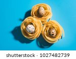 close up of easter decoration... | Shutterstock . vector #1027482739