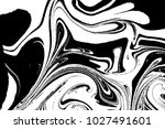 marble wavy pattern. abstract... | Shutterstock . vector #1027491601
