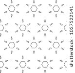 seamless vector pattern in... | Shutterstock .eps vector #1027522141