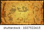 design vintage map | Shutterstock .eps vector #1027522615