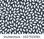 leaves pattern. endless... | Shutterstock .eps vector #1027523581