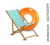 summer vacation  beach party... | Shutterstock .eps vector #1027524379