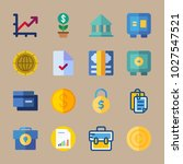 icons banking with money  file  ... | Shutterstock .eps vector #1027547521