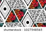 abstract grunge seamless... | Shutterstock .eps vector #1027548565