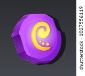 game icon of runic stone in...