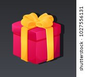 game icon of present box with...