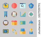 icons about business with... | Shutterstock .eps vector #1027559791