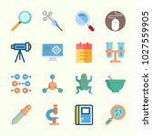 icons about science with... | Shutterstock .eps vector #1027559905