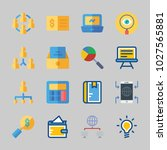 icons about business with idea  ... | Shutterstock .eps vector #1027565881