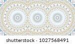 colorful kaleidoscopic... | Shutterstock . vector #1027568491