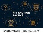 business illustration showing... | Shutterstock . vector #1027570375