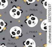 seamless pattern... | Shutterstock .eps vector #1027573237