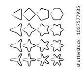 star   vector icon star icon...   Shutterstock .eps vector #1027577935