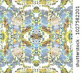mosaic colorful pattern for... | Shutterstock . vector #1027582201