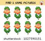 leprechauns dance a jig. find... | Shutterstock .eps vector #1027590151