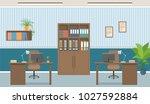 office interior concept....   Shutterstock .eps vector #1027592884