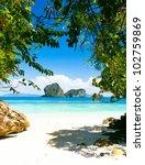 Sea Scene Exotic Beach