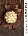 homemade sauerkraut with... | Shutterstock . vector #1027615804