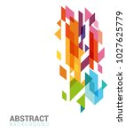 abstract design for web or... | Shutterstock .eps vector #1027625779