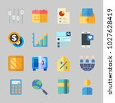 icons about business with... | Shutterstock .eps vector #1027628419
