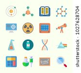 icons about science with... | Shutterstock .eps vector #1027628704