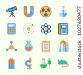 icons about science with flask  ...   Shutterstock .eps vector #1027630477