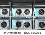 industrial steel air... | Shutterstock . vector #1027636291