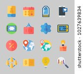 icons about business with... | Shutterstock .eps vector #1027639834