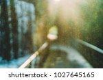 abstract dust sun flare...   Shutterstock . vector #1027645165