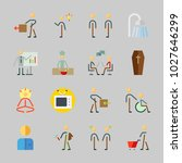 icons about human with male ... | Shutterstock .eps vector #1027646299