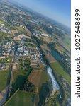 industrial park solvay... | Shutterstock . vector #1027648699