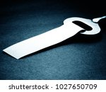 key with blank label | Shutterstock . vector #1027650709