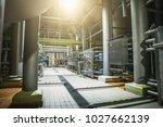 stainless steel brewing... | Shutterstock . vector #1027662139