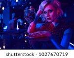 close up portrait of beautiful... | Shutterstock . vector #1027670719