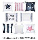 Pastel Pillow Set. White  Blac...